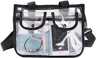 Asnlove Kosmetik Handtasche, Damen Handbag Tasche für Strand, Pflegeprodukte Oder Kosmetik Tragetasche Transparent Fashion...
