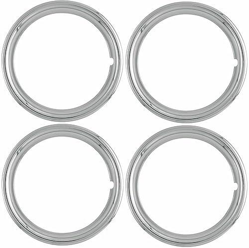 lowest OxGord TR-17-PLCH 17 sale Trim Ring Set of sale 4 sale