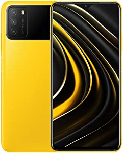 موبايل شاومي بوكو M3 بشريحتين اتصال - شاشة 6.53 بوصة، 128 جيجابايت، 4 جيجابايت رام، شبكة الجيل الرابع ال تي اي - اصفر