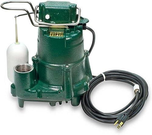 wholesale Zoeller 98-0001 115-Volt 1/2 Horse Power Model new arrival M98 Flow-Mate Automatic Cast Iron Single 2021 Phase Submersible Sump/Effluent Pump … online sale