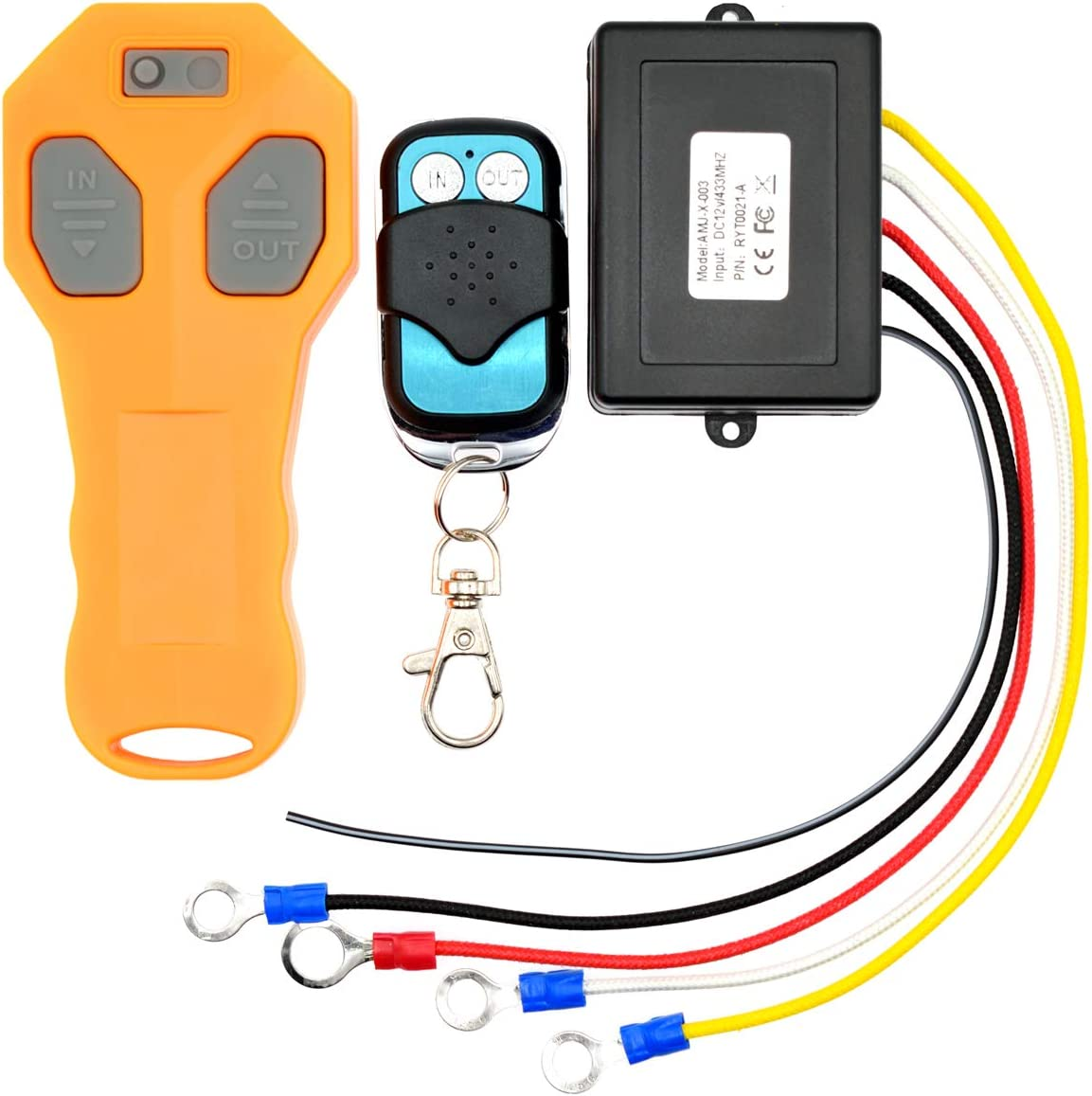Royitay Wireless Winch Remote Control Ranking Detroit Mall TOP1 Kit ATV Truck SUV for Jeep