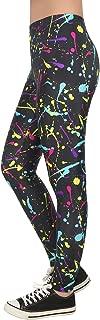 Trendy Design Workout Leggings - Fun Fashion Graphic...
