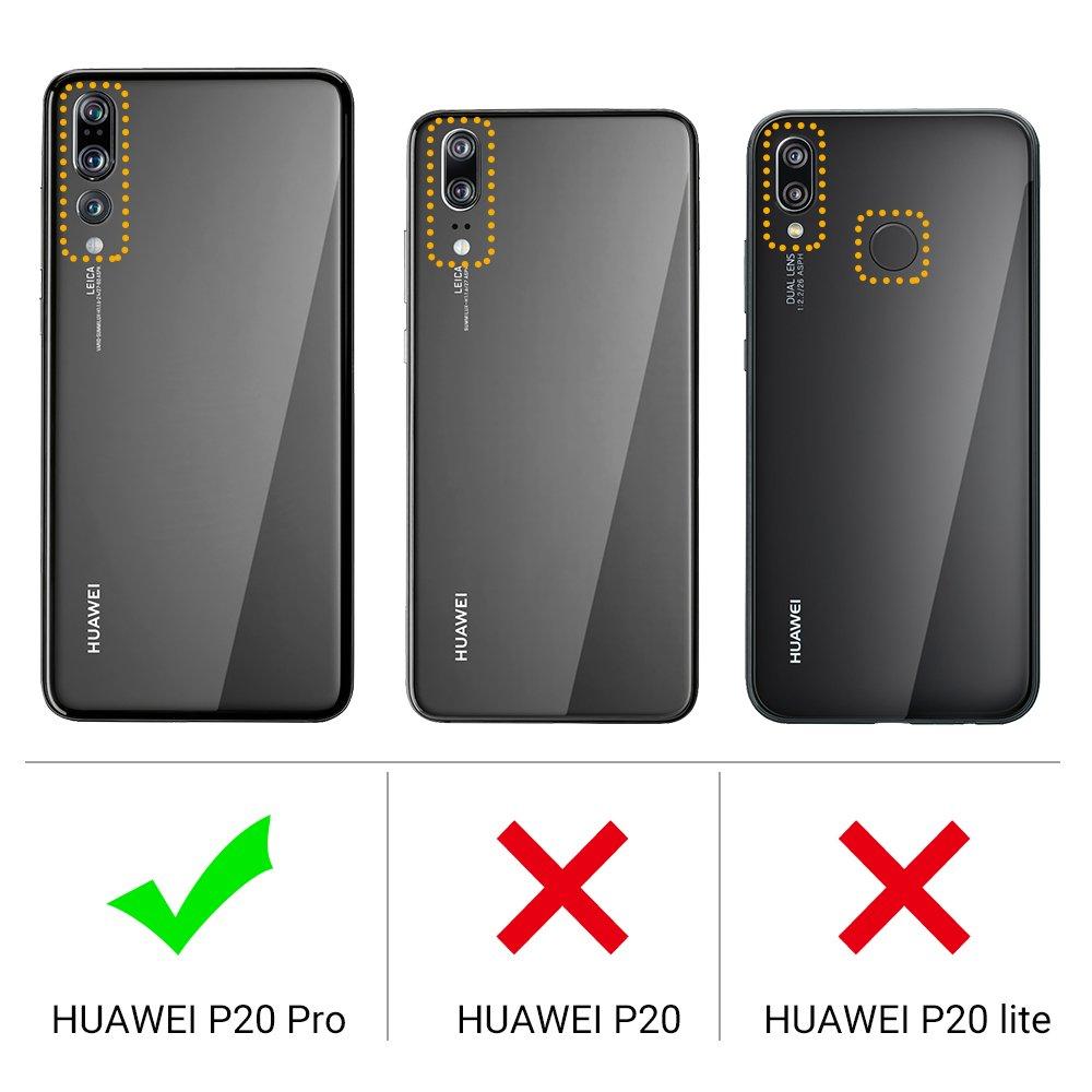 EasyAcc Huawei P20 Pro Funda, Funda de Billetera Cuero PU con ...