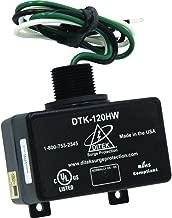 DiTek DTK-120HW Surge Protector • 120/240 Volt • 72,000 Amp Peak Protection • Replacement Surge Protector