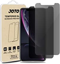 """JOTO Privacy Screen Protector for iPhone 11 / iPhone XR, Anti-Spy Tempered Glass Film Screen Guard for 6.1"""" Apple iPhone 11 2019/ iPhone XR 2018 (2-Pack)"""