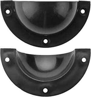 Brybelly Universal Entry Dishes for Standard Foosball Tables (Pack of 2)