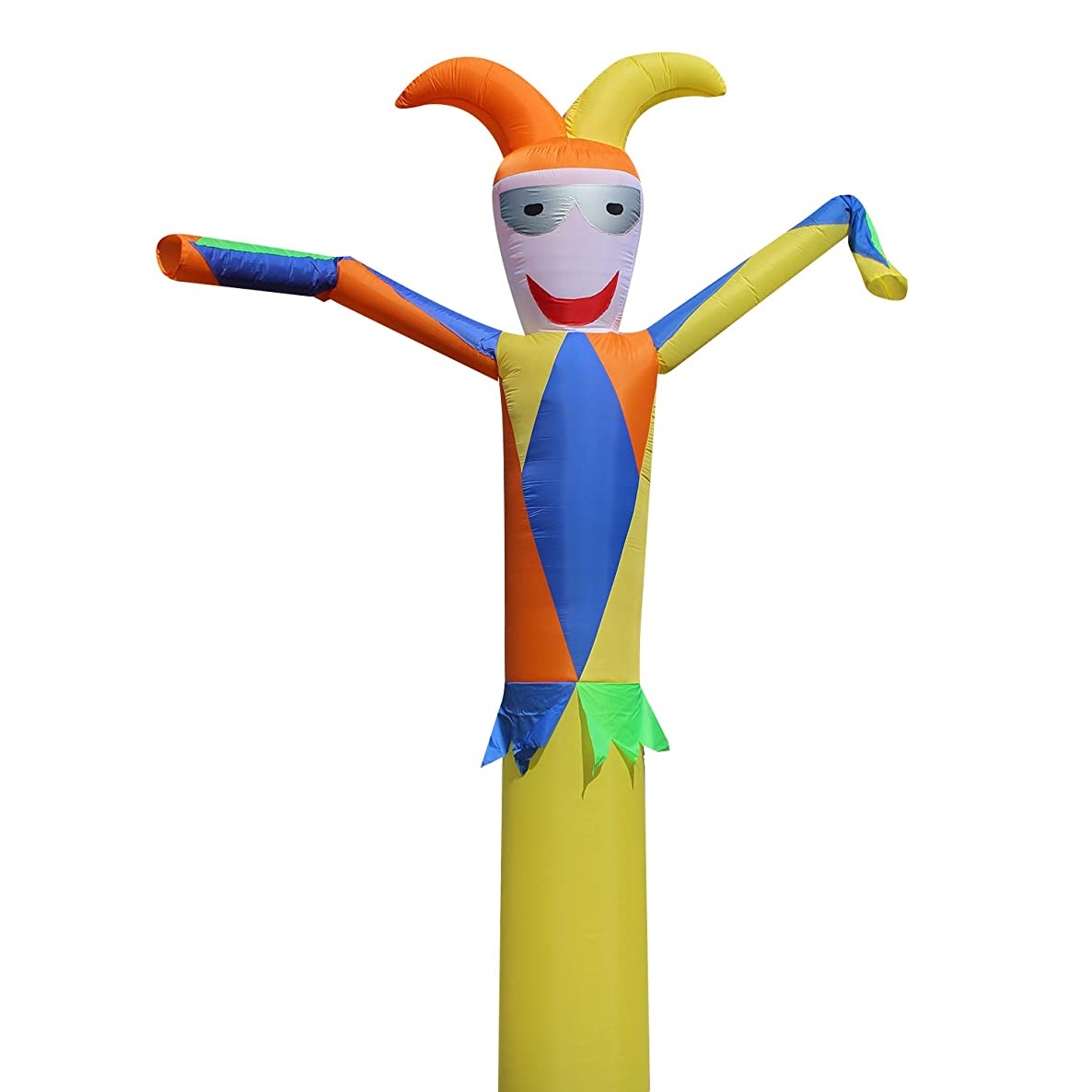 10ft 18'' Air Sky Inflatable Tube Dance Puppet Wind Flying Promotional Clown Dancer(Not Include Blowers) (A999)