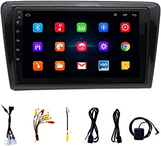 Car Stereo Audio Receiver Support 1080p Wifi Connection Bluetooth Interconnection Fm Reverse Assist Easy to Install and Us...