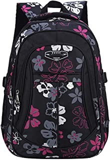 Yunqir Childrens Backpacks Backpack-Childrens Backpack PrimaSchool 1-6 Grade Schoolbag Print Large-