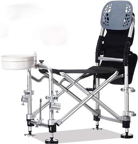 YYZDY12 Chaise de pêche Chaise de pêche en Plein air pour Adulte Portable Pliante multifonctionnelle (Taille   A)