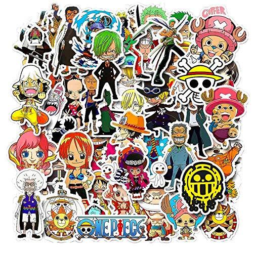 JINER Mix Anime a Cartoon Sticker ski Laptop Luggage Fridge Guitar Graffiti Classic Waterproof Sticker 50PCS