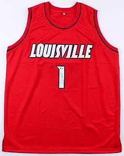 Coach Chris Mack Autographed Signed Memorabilia Jersey Louisville Cardinals Basketball Autographed Signed Memorabilia Cards - Certified Authentic