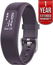 Garmin (010-01755-11 vivosmart 3 - Small/Medium, Purple with 1 Year Extended Warranty