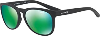 Arnette Go Time Polarized Round Sunglasses matte black 57.2 mm