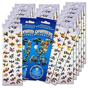 Skylanders Stickers Party Favors Pack - 16 Sheets of Skylanders Stickers