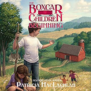 The Boxcar Children Beginning audiobook cover art