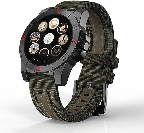 Femmes de Smart montre bleutooth, alarme sonneries rechargeables Pick Up le téléphone montres numériques, vert Smart Santé montre