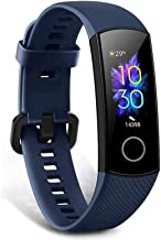 "HONOR Band 5 Fitness Trackers Activity Trackers 0.95"" AMOLED Color Display Smart Watch 50M Depth Waterproof Pedometer with..."