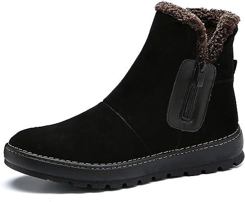 Feifei Chaussures Chaussures pour Hommes Anti-dérapant imperméable Garder Chaud Bottes de Neige 2 Couleurs (Couleur   02, Taille   EU39 UK6.5 CN40)  avec le prix bon marché pour obtenir la meilleure marque
