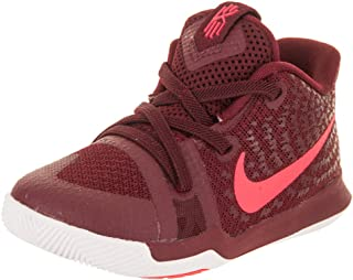 bd45d73d59c96 NIKE Kyrie 3 Toddlers Shoes Team Red Hot-Punch White 869983-681