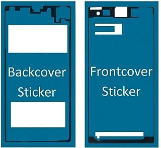 ملصق MMOBIEL الأمامي والخلفي مقاوم للماء متوافق مع هاتف Sony Xperia Z2 لشاشة LCD والغطاء الخلفي