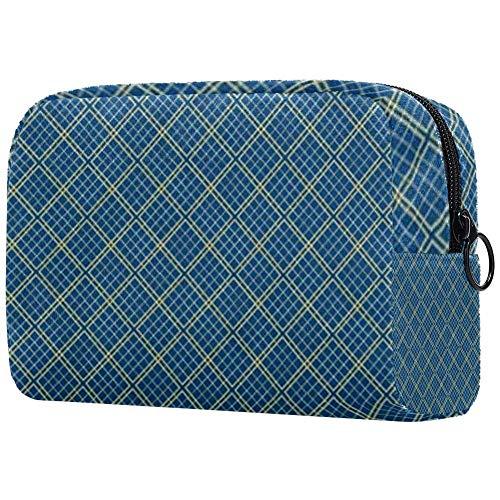 Personalisierbare Make-up-Pinsel-Tasche, tragbare Kulturtasche für Frauen, Handtasche, Kosmetik, Reise-Organizer, Netz-Zaun