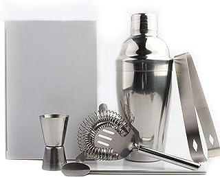 Scra AC Cocktail maken set, gemaakt van roestvrij staal, gemakkelijk schoon te maken, thuisbar stijlvolle barman-5 ounces...