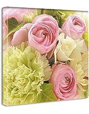 【アートデリ】竹内陽子のファブリックパネル インテリア 雑貨 アート 花 写真 yt-300-pink-020