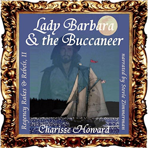 Lady Barbara & the Buccaneer audiobook cover art