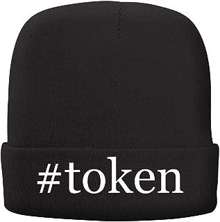 #Token - Adult Hashtag Comfortable Fleece Lined Beanie