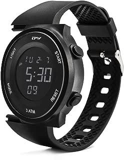 Digital Sport Watch for Men Women K9001 (2019 Military Watch 3ATM Waterproof Wrist Watch LCD Screen Backlight with Stopwatch, Alarm, Time Setting…