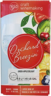 Orchard Breezin' Green Apple Delight Gewürztraminer Wine Kit by RJS