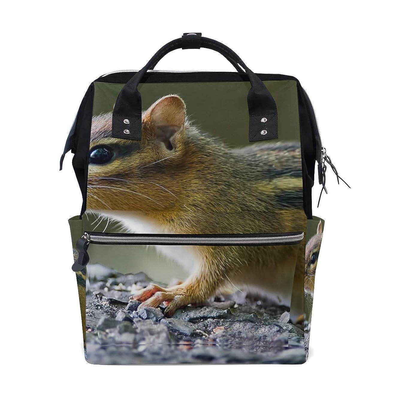 Cute Chipmunk School Backpack Large Capacity Mummy Bags Laptop Handbag Casual Travel Rucksack Satchel For Women Men Adult Teen Children