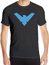 alb2d Nightwing Rebirth Dick Comic Logo Training Shirts Men