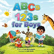 ABCs and 123s for Boys: A fun story time and bedtime alphabet and counting book for preschoolers
