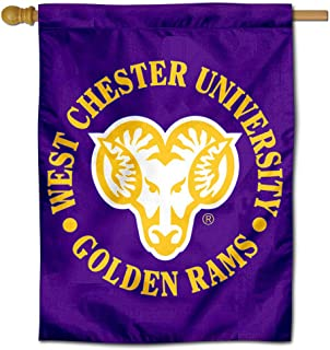 College Flags and Banners Co. WCU Golden Rams Double Sided House Flag