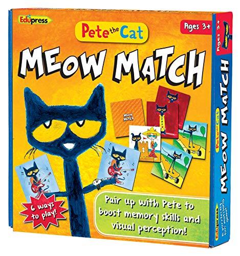 Edupress Pete the Cat Meow Match Game - 62075