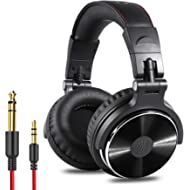 OneOdio Adapter-Free Closed Back Over-Ear DJ Stereo Monitor Headphones, Professional Studio...
