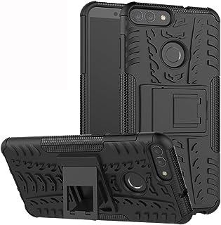 comprar comparacion Labanema Huawei P Smart Funda, Heavy Duty Doble Capa Protección Pesada Híbrida Resistente Funda Protectora y Robusta...