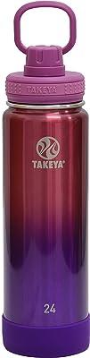 TAKEYA(タケヤ) AO1 タケヤフラスク アクティブライン オンブレ コレクション 水筒 ステンレスボトル 直飲み 保冷 (ピンクパープル, 700ml)