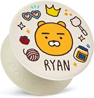 KAKAO FRIENDS Official- Collapsible Grip Stand for Phones and Tablets (Icon Type Ryan)