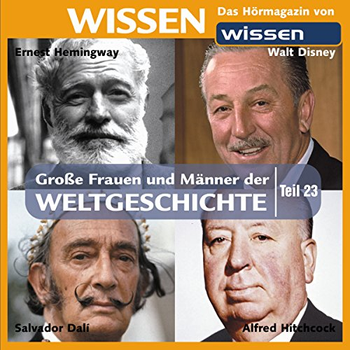 Große Frauen und Männer der Weltgeschichte 23 audiobook cover art