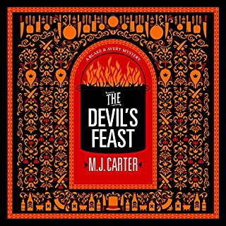 The Devil's Feast audiobook cover art