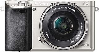 SONY ミラーレス一眼 α6000 パワーズームレンズキット E PZ 16-50mm F3.5-5.6 OSS シルバー ILCE-6000L S