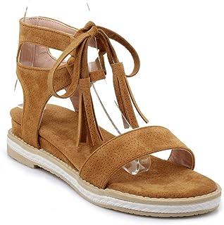 d29594370da5a OHQ-Sandales Femmes Plates Chaussures De Sport Confortables De La Marque  MaréE Fashion Sandales à