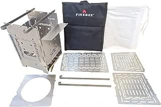 FIREBOX(ファイヤーボックス) G2 ストーブ Complete Set コンプリート セット バーベキューコンロ 焚火台 5インチ ウッドストーブ 【日本正規品】