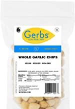 Gerbs Crunchy Baked Whole Garlic Pods, 8oz. – Unsulfured & Preservative Free - Top 14 Allergy Friendly & NON GMO