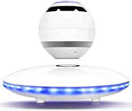 HFJKD Magnetic levitation Bluetooth Speaker, Home Smart Portable Speakers, Support Hands-Free Noise Reduction Calls, 9h us... photo