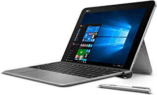 """ASUS 10.1"""" Transformer Mini T102HA-D4-GR, 2 in 1 Touchscreen Laptop, Intel Quad-Core, 128GB SSD, Grey, pen and keyboard included"""
