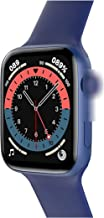 """Nieuwe Smartwatch 2021 HW22 Smart Horloge 1 75 """"Custom Dial Bluetooth Call 44mm Hartslag Bloeddruk Fitness voor (Kleur: Bl..."""